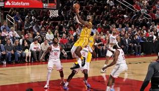 NBA湖人124-115火箭賽後數據 詹姆斯開啟了季後賽模式