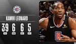 NBA官方最佳數據倫納德收入囊中