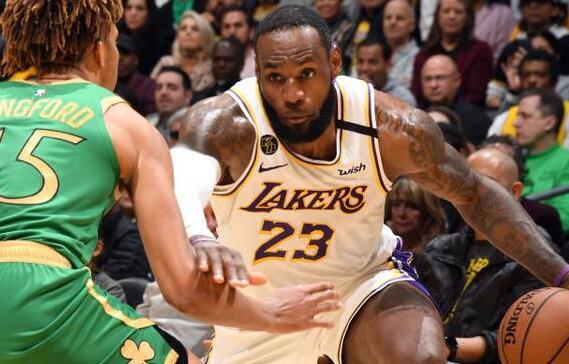 【戰報】2月24日NBA常規賽湖人vs凱爾特人 以114-112險勝綠軍