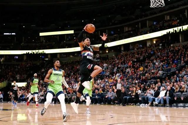 【戰報】2月24日NBA常規賽掘金VS森林狼 掘金主場128-116戰勝森林狼