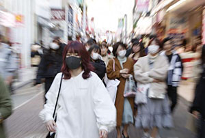 參與聖火采集交接的日本職員確診新冠肺炎