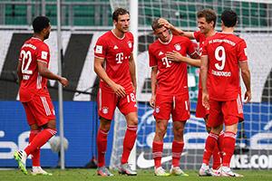 德甲第1輪拜仁慕尼黑vs沙爾克04