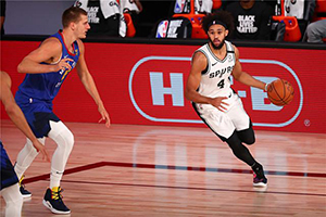 NBA常規賽8月10日馬刺vs鵜鶘