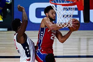 NBA常規賽8月10日76人vs開拓者