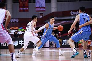 CBA季后赛半决赛广东88-85北京 林书豪错失绝平三分球