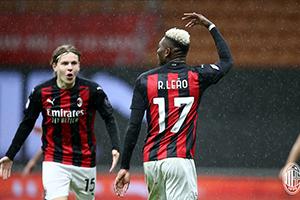 意甲第3輪AC米蘭3-0斯佩齊亞 萊奧梅開二度特奧一條龍破門