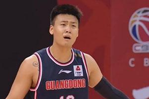 廣東VS四川的比賽中 趙瑞遭受驅逐