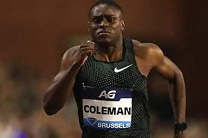 美國飛人科爾曼因三次錯過藥檢 將被禁賽2年無緣東京奧運會