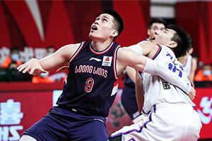 2020CBA常规赛第一阶段天津95-108广州  摩尔23+5+9哈斯17+6