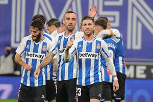 西乙第11輪西班牙人2-1盧戈 恩巴爾巴傳射建功武磊第90分鍾替補上場