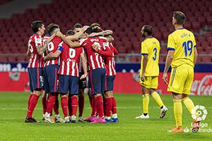 西甲第9輪馬德裏競技4-0卡的斯 菲利克斯2射1傳蘇牙破門