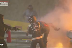 F1巴林站严重事故缺靠一个系统得救