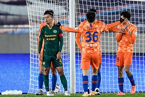 足協杯1/4決賽廣州富力vs山東魯能