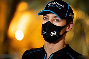 拉塞爾頂替漢密爾頓參加F1薩基爾大獎賽