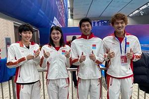 國際泳聯確認中國遊泳隊創造世界紀錄