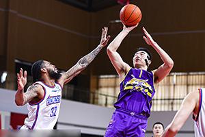 CBA常規賽第二階段天津vs吉林