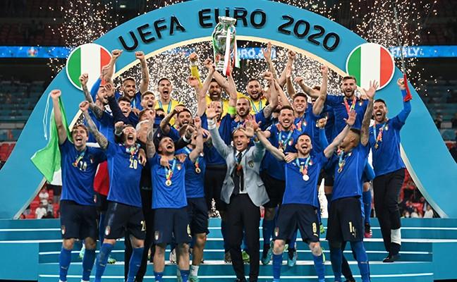 時隔53年意大利再奪歐洲杯冠軍